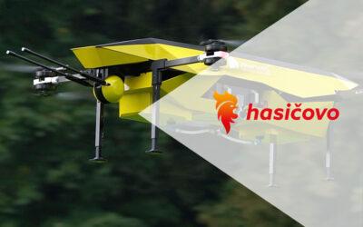 Dronoidy przeciwpożarowe Spartaqs na łamach czeskiego portalu Hasičovo