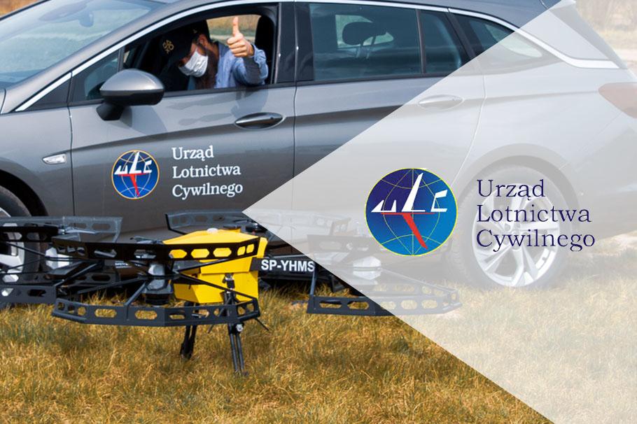 Dronoid Hermes V8MT obdržel souhlas Úřadu pro civilní letectví pro lety BVLOS