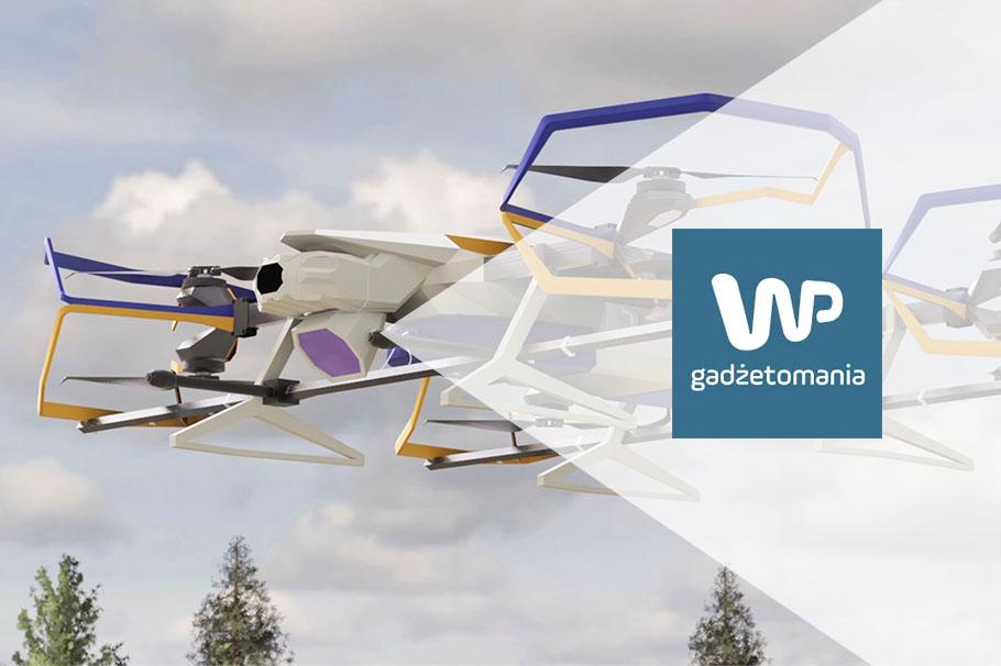 Czy połączenie technologii rakietowych i dronowych jest możliwe? Rozwiązania konstrukcyjne Sławomira Huczały pokazują, że tak! Portal Gadżetomania.pl