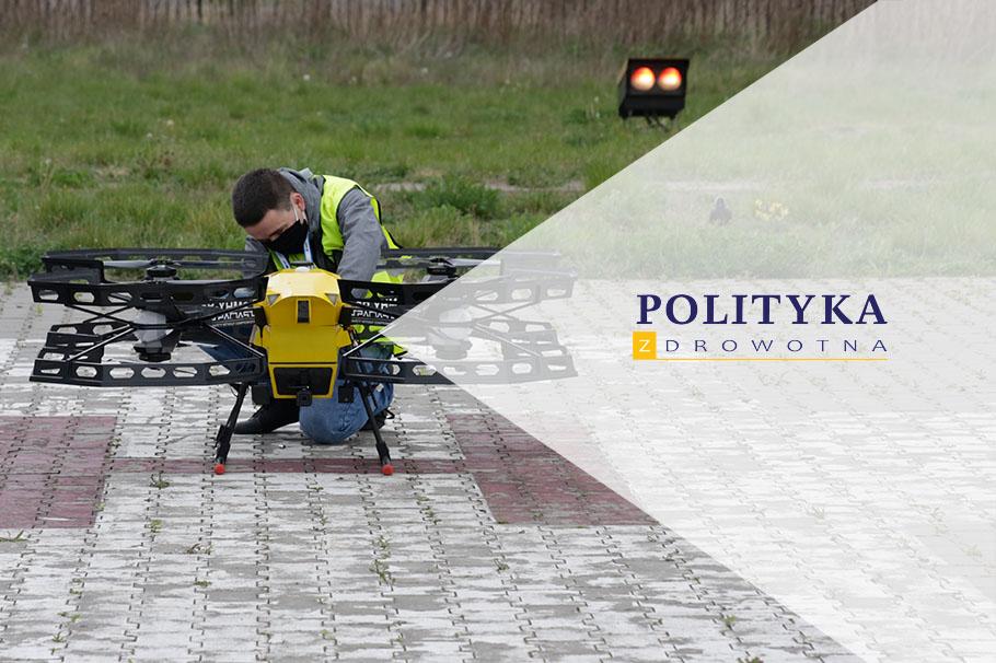 Portál Zdravotní politika o lékařském transportu pomocí dronu Spartaqs