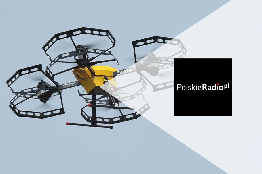 Dronoid Hermes V8MT na portalu Czwórka Polskie Radio