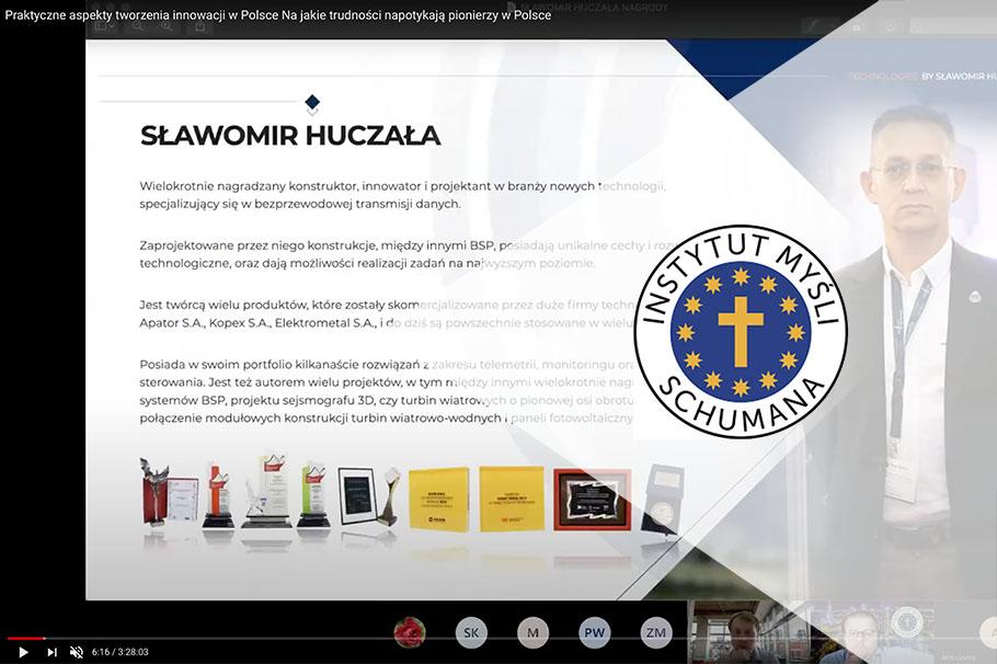 Sławomir Huczała o pracy konstruktora w Polsce podczas Europejskiego Festiwalu Schumana