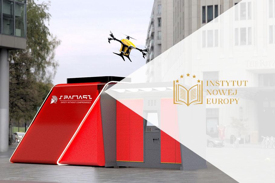Dronoidy firmy Spartaqs w materiale Instytutu Nowej Europy