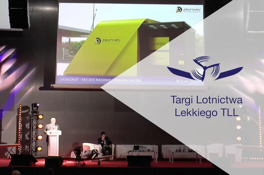 Prezentacja systemów Spartaqs na Aviation EXPO 2020 w Kielcach
