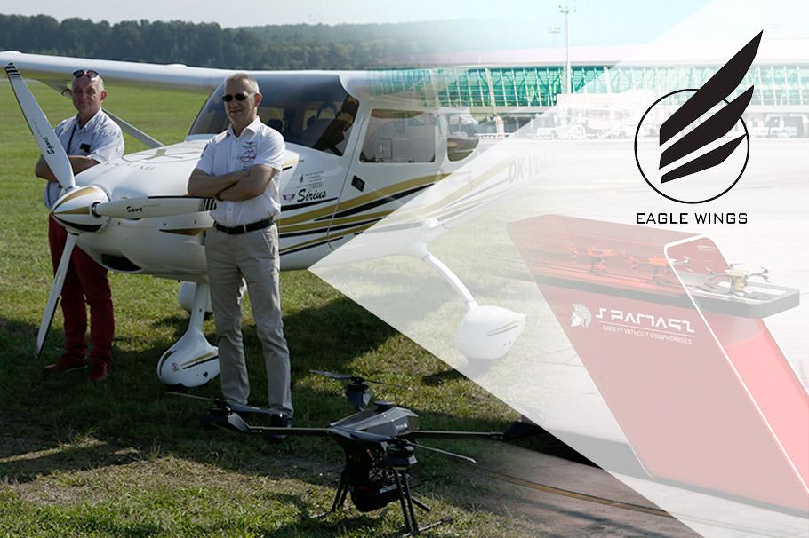 Pierwszy test DST – Dronoidowego Systemu Transportowego Spartaqs zakończony sukcesem!