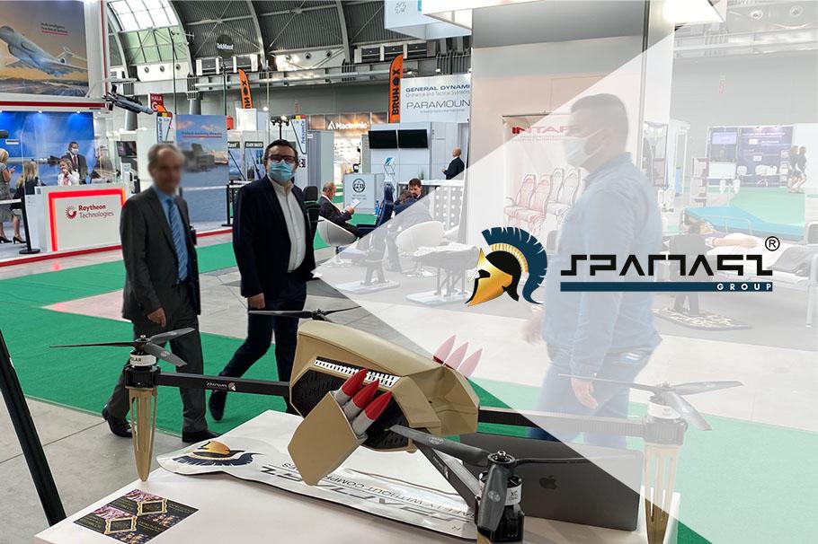 Dronoidy Spartaqs na MSPO 2020