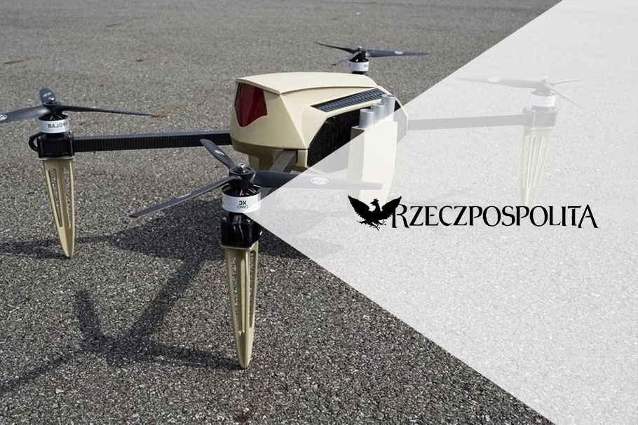 A Polish drone flies to the Czech Republic, i.e. Spartaqs on the pages of Rzeczpospolita