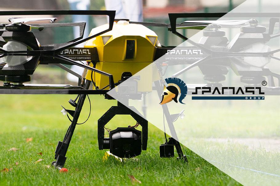 Pierwsza misja dronoidów Spartaqs w Czechach z wykorzystaniem globalnego systemu sterowania zakończona sukcesem!