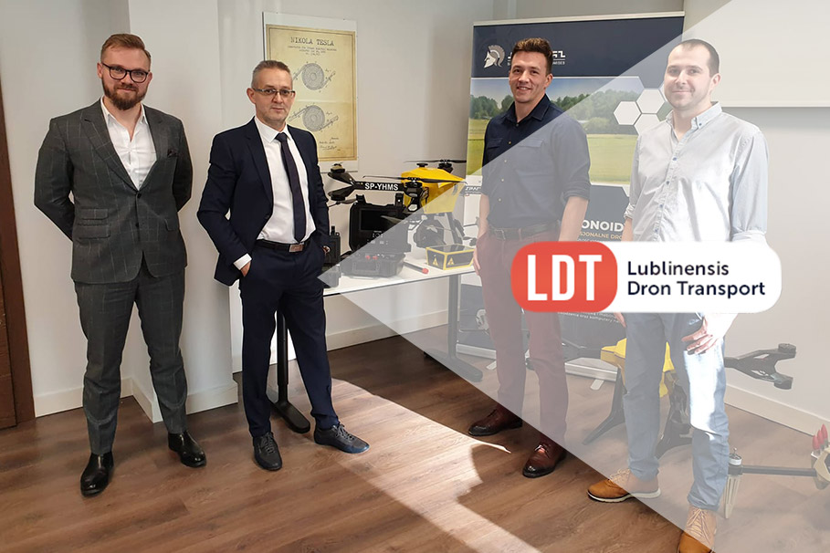 Lublinensis Dron Transport dołącza do konsorcjum Spartaqs Group!