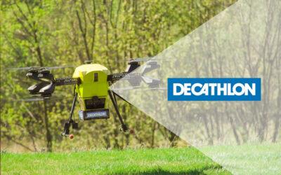 Dronoid Hermes V8M dostarczył przesyłkę klientowi do domu!