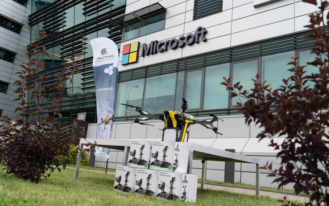 Dostarczyliśmy przesyłki od Microsoft dla odbiorców w całym kraju!