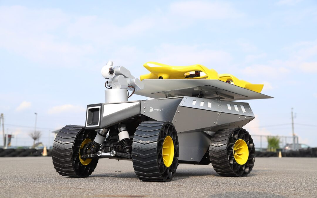 Łazik marsjański Spartaqs Group na European Rover Challenge 2021